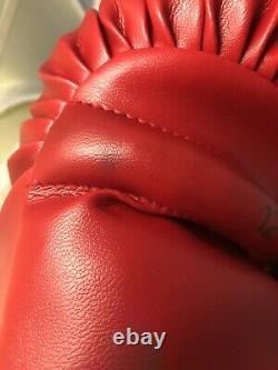 Floyd Patterson Signed Boxing Glove, Autograph, WithCOA, Rare