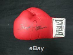 Floyd Patterson Signed Everlast Boxing Glove Autograph Auto PSA/DNA AF30154