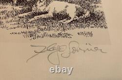 Floyd Sonnier- LA Boucherie Des Cajuns Print Signed & Numbered 58/200