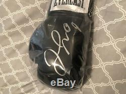 Floyd mayweather autographed glove