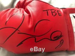 Floyd mayweather signed glove