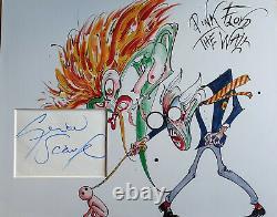 GERALD SCARFE Signed 14x11 Photo Display PINK FLOYD The Wall COA