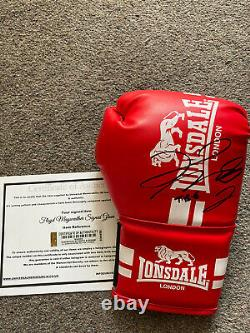 Genuine Hand Signed Floyd Mayweather Boxing Glove Legend Of The Ring With COA