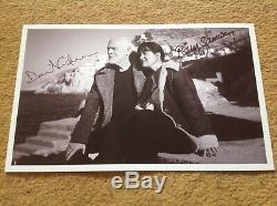 Hand Signed 9 6 photo of DAVID GILMOUR & Polly Samson PINK FLOYD RARE & COA