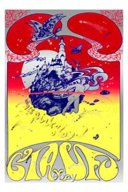 Hapshash and the Coloured Coat signed Pink Floyd CIA vs. UFO Poster