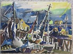 James Floyd Clymer 1920's painting Provincetown MA modernist artist