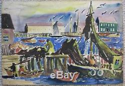 James Floyd Clymer 1920's painting Provincetown MA modernist artist