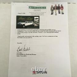 Jon Bon Jovi Full Band signed Floyd Rose Have a Nice Day Saturn Grand Prize