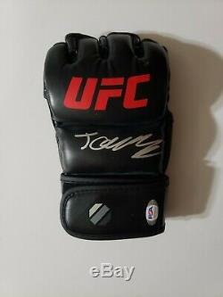 Jorge Masvidal signed MMA UFC Glove Connor McGregor Floyd Mayweather Game Bred