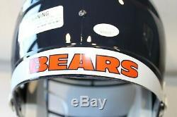 Leonard Floyd Signed Chicago Bears Full-Size Speed Helmet JSA COA Auto Autograph