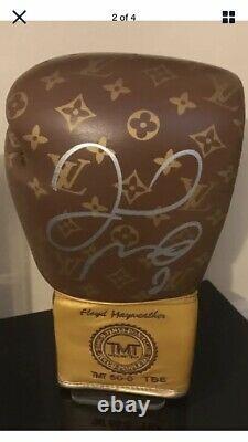 Mega Rare Floyd Mayweather Signed Boxing Glove COA PROOF LV Limited Edition/10