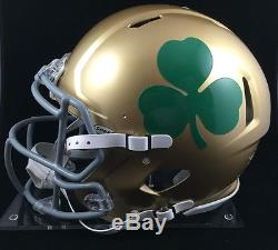 Michael Floyd Autographed Notre Dame Full Size Speed Revolution Football Helmet
