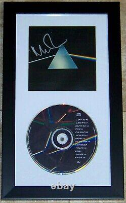 Nick Mason DARK SIDE OF THE MOON Signed FLOYD CD Photo Album Booklet PSA COA