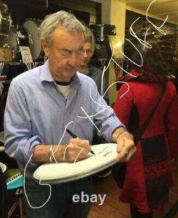 Nick Mason Remo Drum Skin Signed Pink Floyd Uacc + Photo Proof