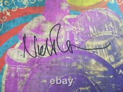 Nick Mason Signed Autographed 2019 Saucerful of Secrets Tour Poster Pink Floyd