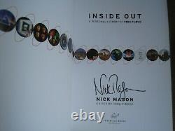 Nick Mason Signed Inside Out First American Edition New Pink Floyd Waters
