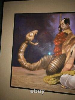 Original Signed Published Illustration Art Painting Floyd Cooper Serpent'92
