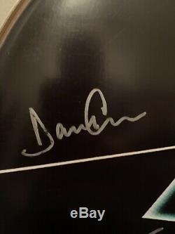 PINK FLOYD AUTOGRAPHED DRUM HEAD With COA ALL OFFERS CONSIDERED