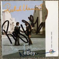 PINK FLOYD FULLY Signed / Autographed WYWH CD Cover PROOF VERY RARE SET
