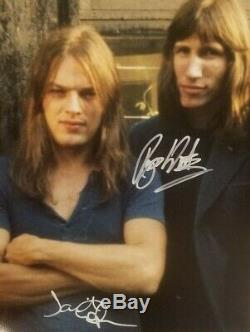 PINK FLOYD GILMOUR WATERS Hand Signed Autograph Signature 8 x 10 Photo with COA