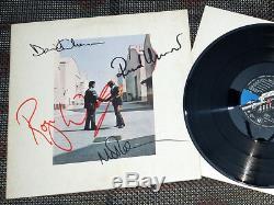 PINK FLOYD LP (4) Autógrafos, Firmado Autographs, Signed
