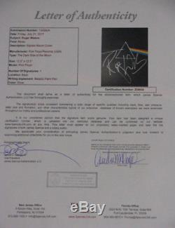 PINK FLOYD ROGER WATERS'Dark Side Of' Hand Signed LP + JSA COA Buy Authentic