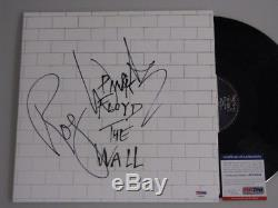 PINK FLOYD ROGER WATERS'The Wall' Hand Signed LP + PSA DNA COA Buy Authentic