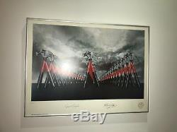 PINK FLOYD Roger Waters THE WALL LIMITED EDITION LITHOGRAPH SIGNED & FRAMED