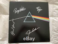 PINK FLOYD SIGNED Dark Side of the Moon ALBUM Signed by Band Members