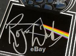 PINK FLOYD Signed Autograph CD Display by All 4 Roger Waters, David Gilmour, +