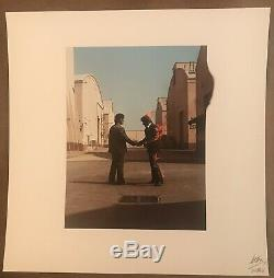 PINK FLOYD Storm Thorgerson Signed / Autographed WYWH Litho Print FA LOA
