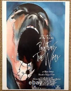 PINK FLOYD THE WALL ALAN PARKER SIGNED COL PHOTO 10x16 Inches UACC