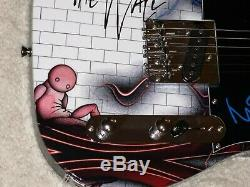 PINK FLOYD THE WALL SIGNED NICK MASON CUSTOM 1 OF 1 TELE ELECTRIC GUITAR WithPROOF