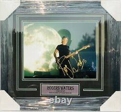 PSA/DNA Pink Floyd ROGER WATERS Signed Autographed FRAMED 11x14 Photo THE WALL
