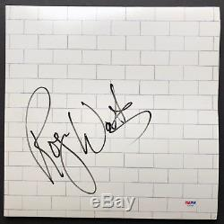 PSA/DNA Pink Floyd ROGER WATERS Signed Autographed THE WALL Vinyl Record Album