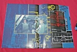 Pink Floyd 1987-88 Momentary Lapse Reason Concert Book Autographed David Gilmour