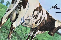 Pink Floyd (3) Waters, Mason & Thorgerson Signed Album Cover w Vinyl BAS #A88383