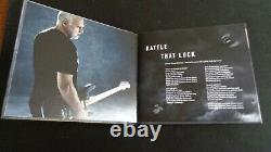 Pink Floyd Autograph, David Gilmour Signed Rattle That Lock Deluxe Cd. Superb