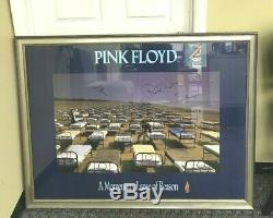 Pink Floyd Band Signed A Momentary Lapse Of Reason Poster Framed Local Pickup