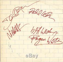 Pink Floyd Band Signed The Wall Album 1980 Uniondale, New York