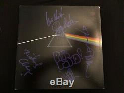 Pink Floyd Dark Side Of The Moon Autograph Waters Gilmour Mason Wright Signed