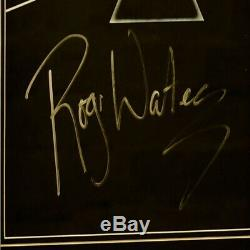 Pink Floyd Dark Side Of The Moon Cover Signed Roger Waters Fantastic Item £399