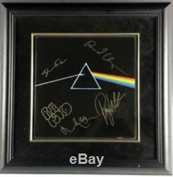 Pink Floyd Dark Side Vinyl Lp Signed By Waters, Mason, Wright & Gilmour