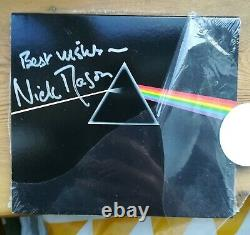Pink Floyd Dark Side of The Moon CD autographed by Nick Mason drummer