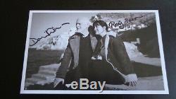 Pink Floyd, David Gilmour & Polly Samson Autograph Signed Photograph