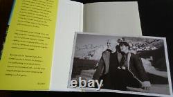 Pink Floyd, David Gilmour & Polly Samson Autograph Signed Photograph & Book