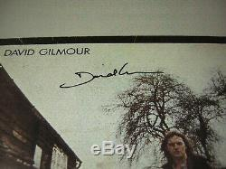Pink Floyd David Gilmour Signed LP Solo 1977