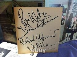 Pink Floyd Fully Hand Signed U. Gumma VINYL DLP Gilmour Mason Wright Waters
