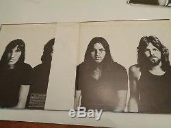 Pink Floyd Meddle Japanese Autographed Print, Gatefold Lp. Posters, Inners