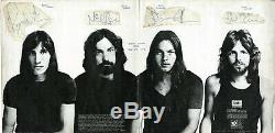 Pink Floyd Meddle SIGNED by all 4, David Gilmour, Richard Wright, Roger Waters+1